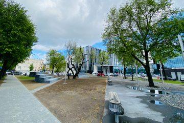 Karaliaus Mindaugo prospekte – miestiečiams sukurta nauja viešoji erdvė